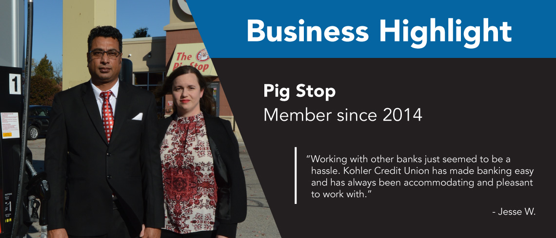 Business Highlight Pig Stop